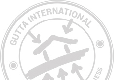 Gutta International stamp